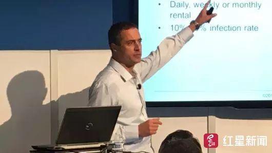 ▲网络安全公司Trustwave的专家齐夫•马多尔(Ziv Mador)。来源CNBC
