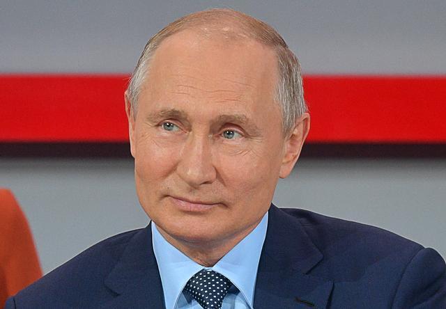 俄罗斯总统普京。