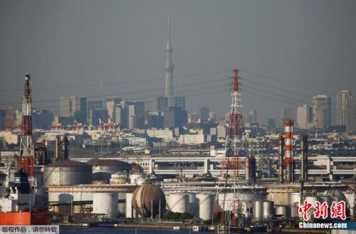 原料图片:日本川崎工业港口。