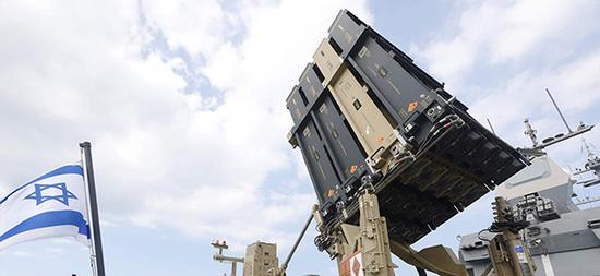 以色列的铁穹防御系统。视觉中国 资料