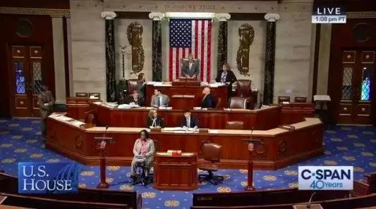 """5月7日,美国众议院通过""""台湾保证法2019""""(Taiwan Assurance Act)"""