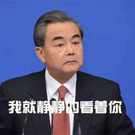 (图:国务委员兼外交部部长王毅,配图与现场无关。)