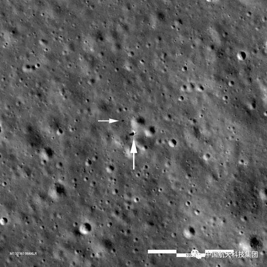 ▲ LRO卫星拍摄影像