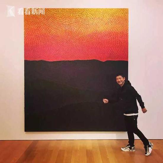 前泽友作以1.105亿美元买下的让·米切尔·巴斯奎特1982年的作品《无题》,这是该画家目前最贵的拍品