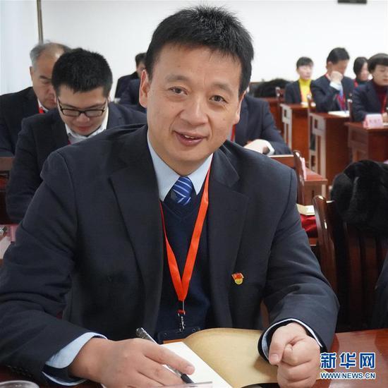 这是武汉市武昌医院院长刘智明(资料照片)。 新华社发