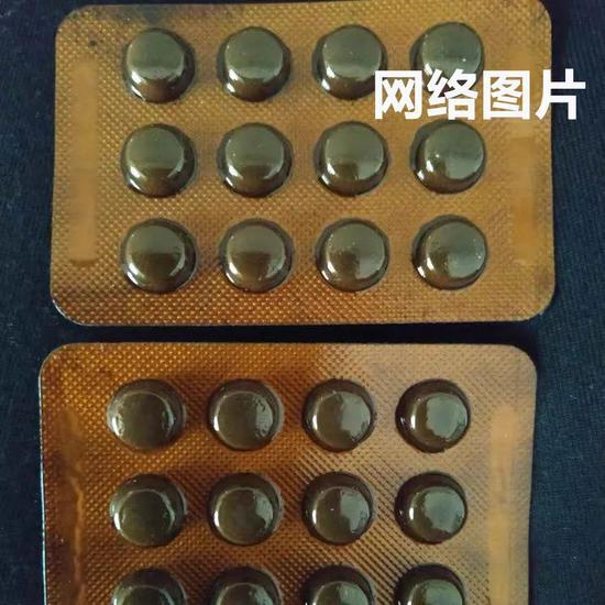 高锰酸钾药片,网络图▲