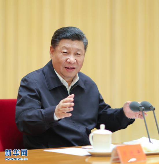 2018年7月3日至4日,全国组织工作会议在北京召开。中共中央总书记、国家主席、中央军委主席习近平出席会议并发表重要?#19981;啊?新华社记者鞠鹏摄