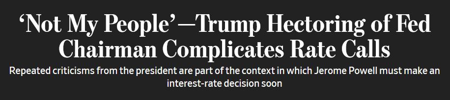 """特朗普指责美联储""""犯大错"""":里面不都是我的人_德国新闻_德国中文网"""