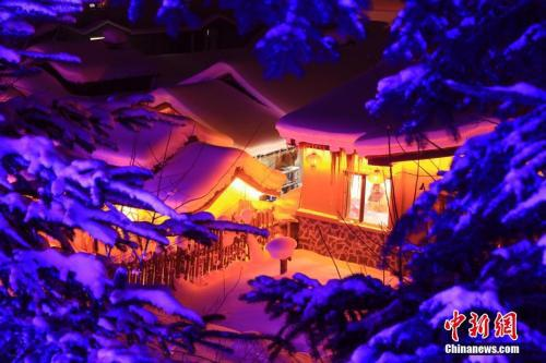原料图:黑龙江雪乡。中新社记者 于琨 摄