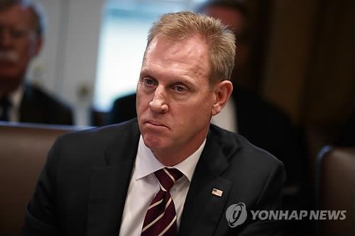 美国代理国防部长沙纳汉(韩联社)