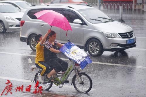 广州暴雨黄色预警:学生可自动???不用等待通知