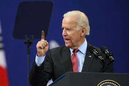 The picture shows Joe Biden. The