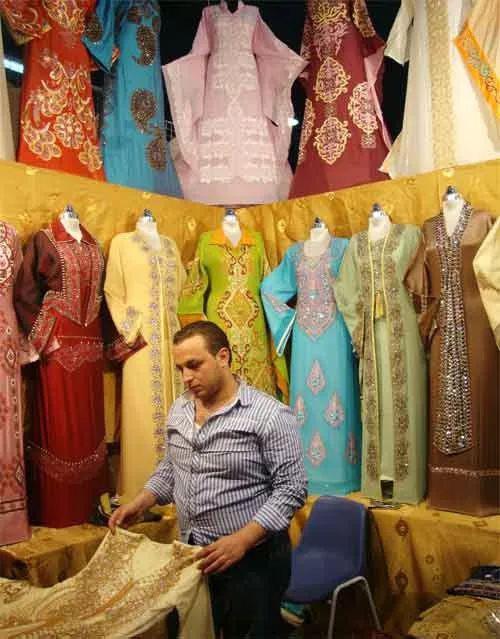 印度市场上热销的中国服装