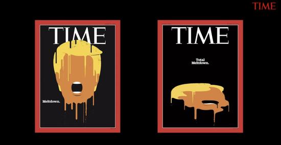 Left: Meltdown. Right: Total Meltdown. Image source: Time.com