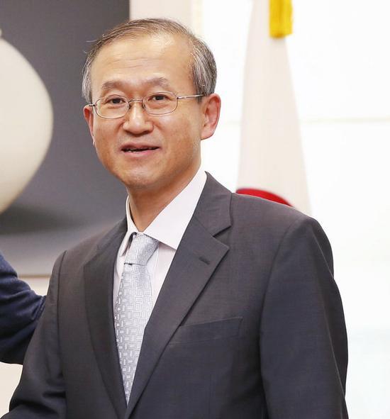 韩国前外交部第一次官林圣男(韩联社)