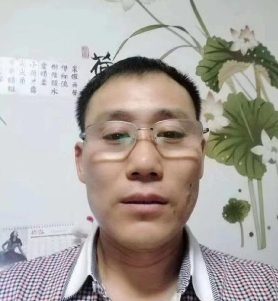 ↑获救矿工刘贵华