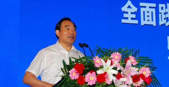 徐州市委书记周铁根 中国经济体制改革杂志社供图