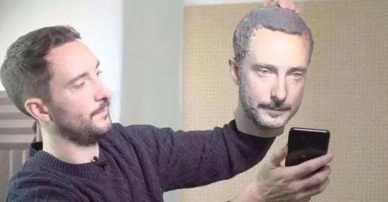 3D打印人臉
