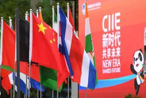 ▲图为2018年11月5日,中国国际进口博览会在上海开幕。(新华社)