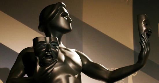 美国演员工会奖奖杯形象