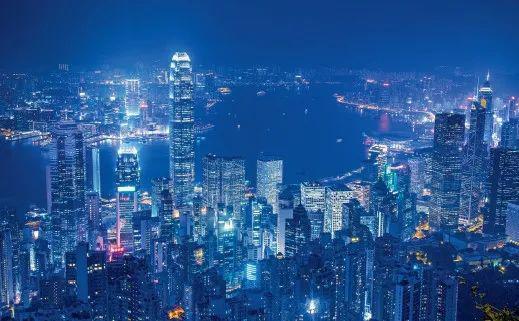 香港夜景(图源:网络)