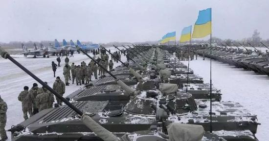 ▲乌克兰军用装备