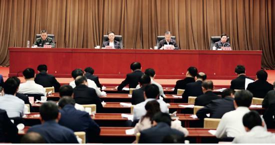 2018年12月28日至29日,全国退役军人事务厅(局)长会议在京召开。供图 / 退役军人事务部。