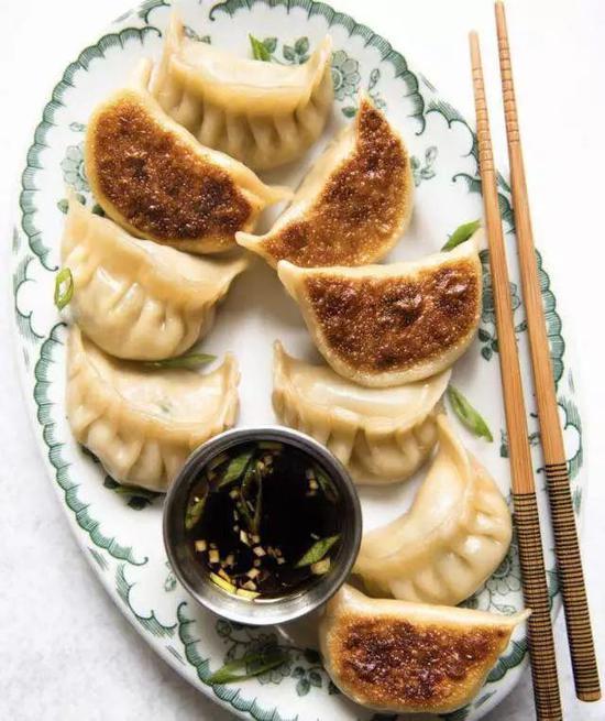 ▲林奶奶做的煎饺