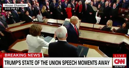 CNN直播截图