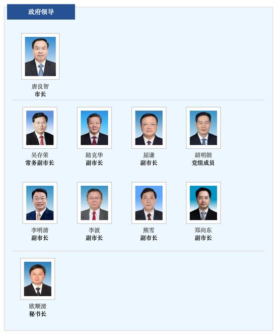 截图来源:重庆市政府官网
