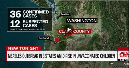 (图为CNN对事件报道截图)