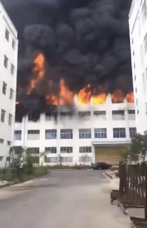 贵州岑巩工厂火灾已致3死7伤 过火面积4000平米