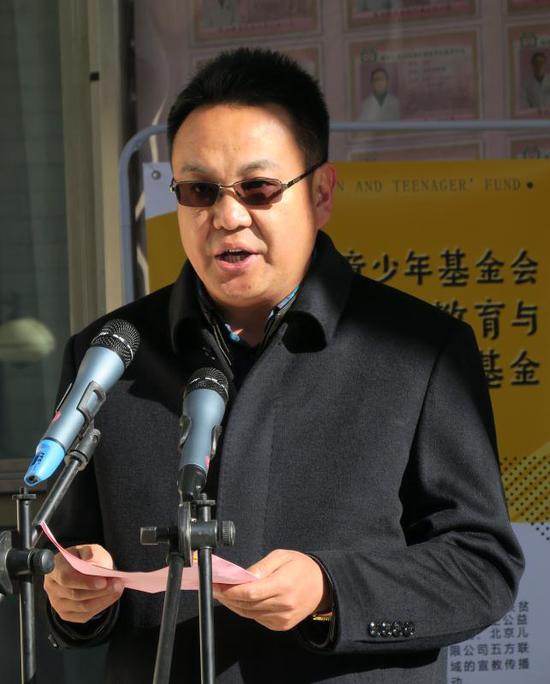 城关区委副书记、政协主席索朗次仁
