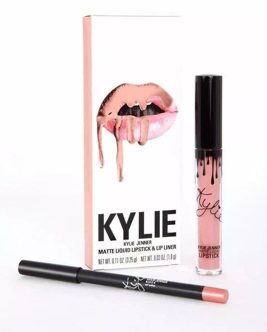 ▲Kylie投放在Ulta的29美元唇膏套装 (图via Teen Vogue)