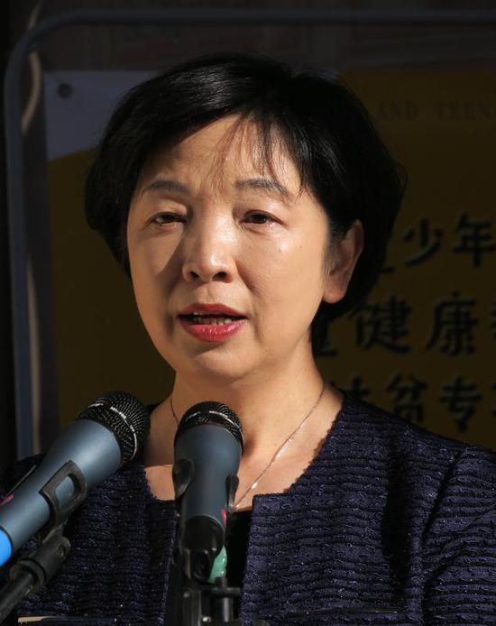 北京儿童医院院长助理北京儿童健康基金会理事长聂小莺女士