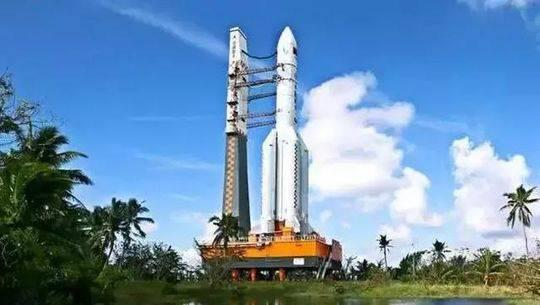 ▲长征五号运载火箭