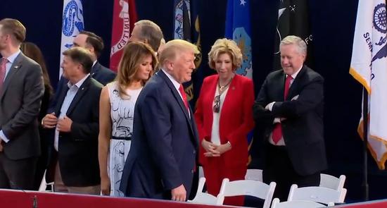 特朗普出席独立日庆典