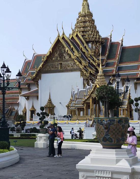 位于泰国芭提雅的金龙寺。受访者 供图