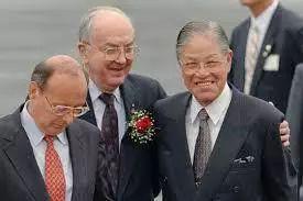 1995年的李登辉。