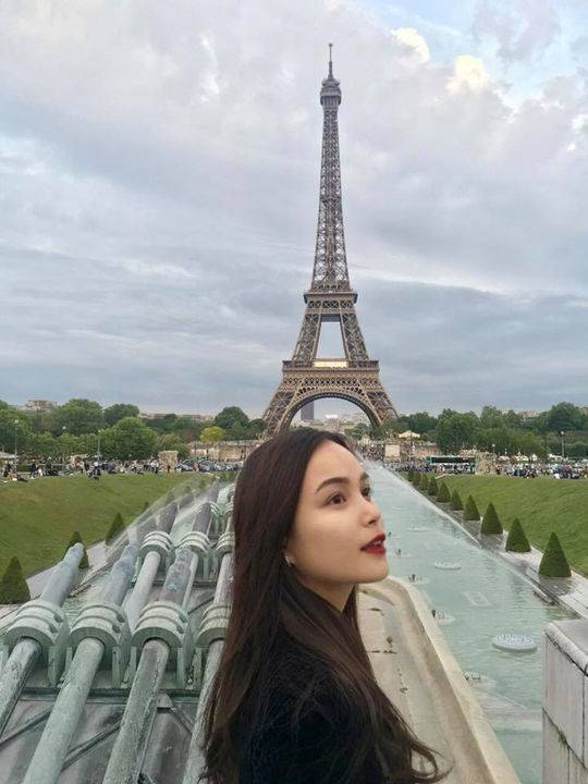 Phuong Linh热爱旅游