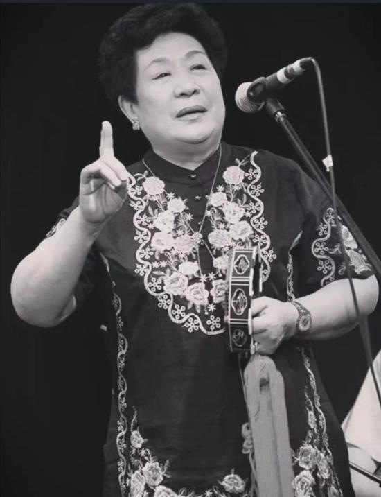 著名單弦表演藝術家馬增蕙去世,享年84歲