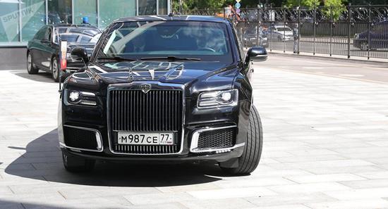 俄罗斯总统普京把他的座驾Kortezh带到了阿根廷。(俄罗斯卫星通讯社)