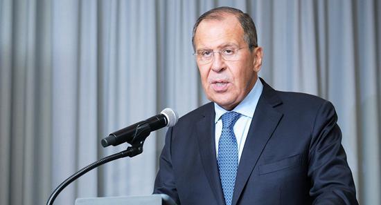"""俄外长:俄方已准备好与美国一起""""拯?#21462;?#20013;导条约"""