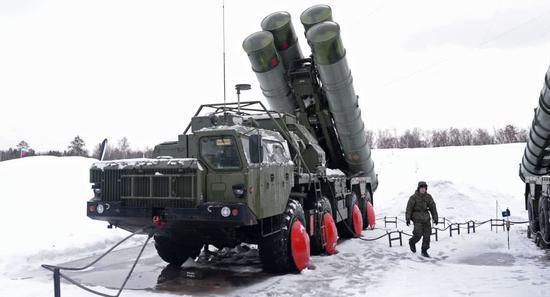俄军S-400 图片来自俄罗斯卫星网