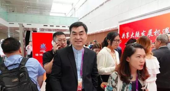 台北市副市长邓家基连续三年出席海峡论坛