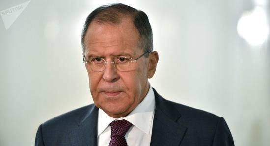 俄罗斯交际部长拉夫罗夫(俄罗斯卫星网)