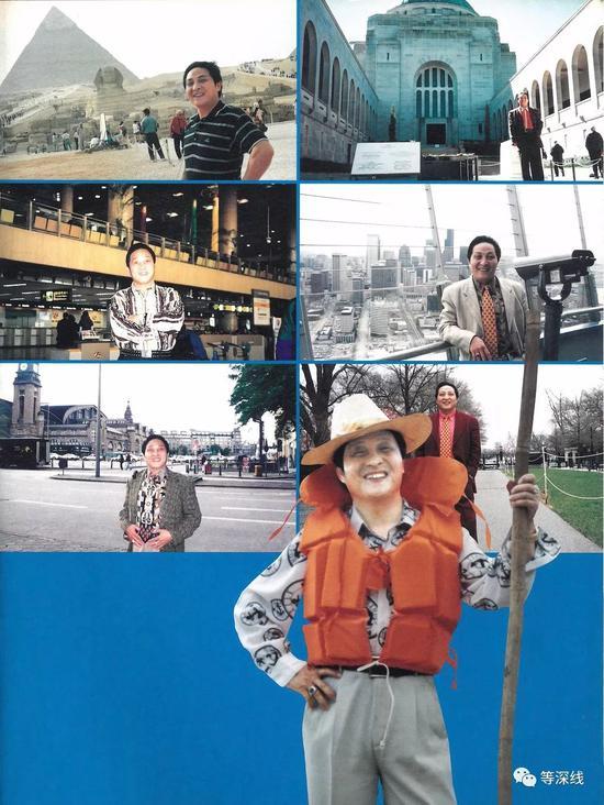 王林旅游照 图片来自《王林大师写真》