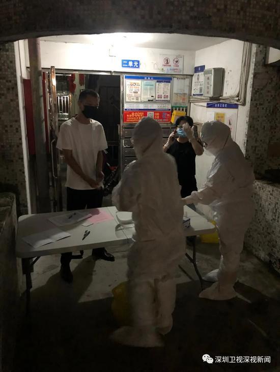 深圳:确诊港籍货车司机居留小区已连夜开展核酸检测