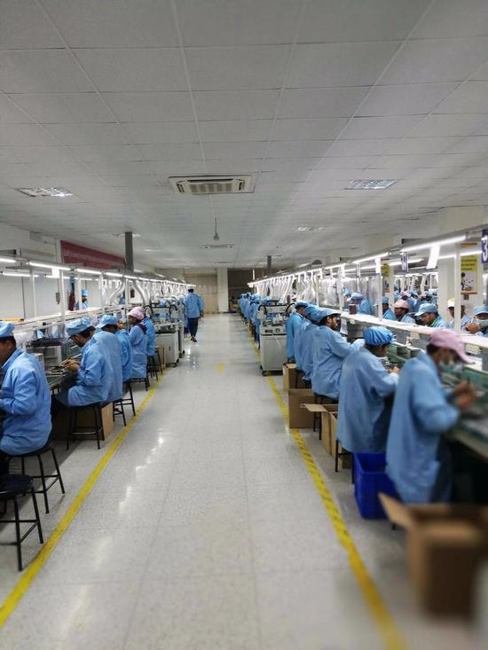 印度的中国企业厂房