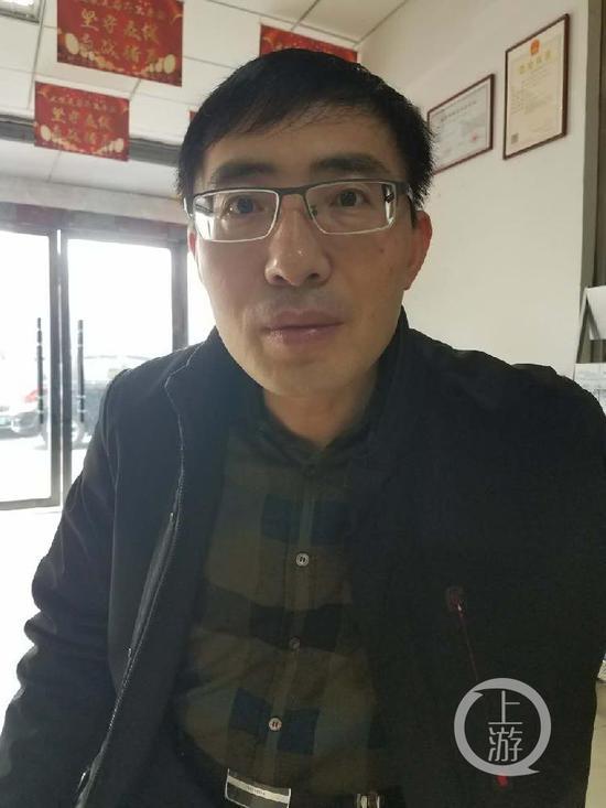 ▲自称被逼辞职的陈秋平。受访者供图